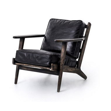 Brooks lounge chair leather