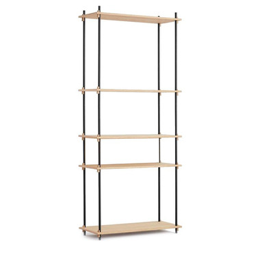 Shelving system tall, single