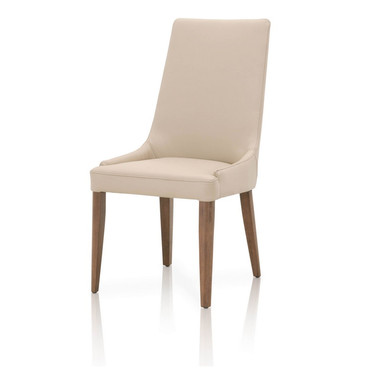 Aurore walnut dining chair