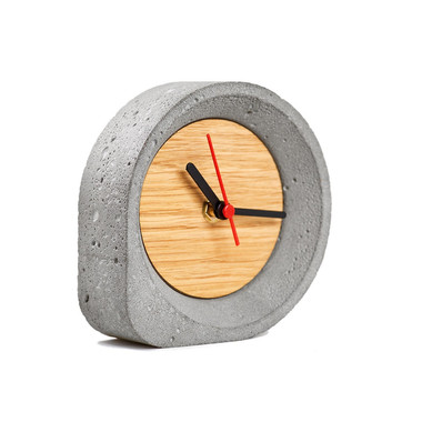 Gf concrete clock