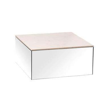 Mirror table large mocca