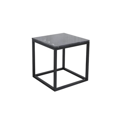 Cube table black