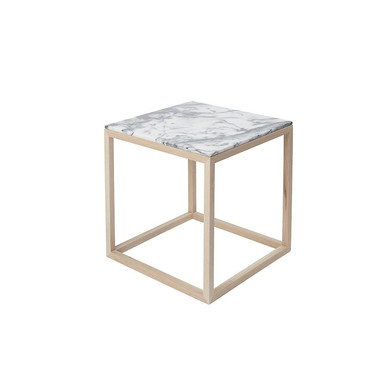 Cube table grey